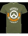 Camiseta Heroes Never Die Hombre