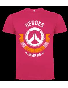 Camiseta Niño HEROES NEVER DIE
