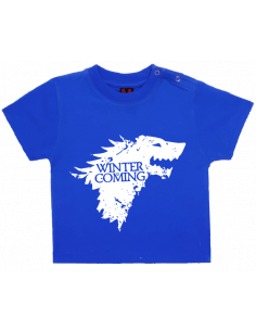 Camiseta winter is coming stark bebé
