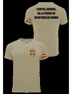 Camiseta Cuartel General de la Fuerza Infantería de Marina