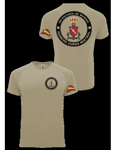 Camiseta personalizada Curso Mistral Infantería de Marina