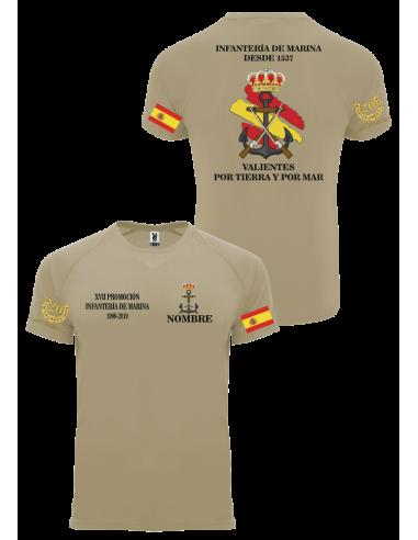 Camiseta Personalizada Promoción Infantería de Marina