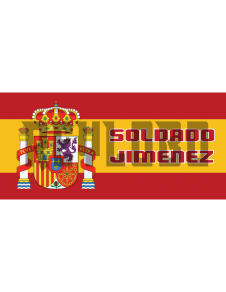 Taza Bandera de España personalizada