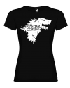 Camiseta Lobo stark mujer