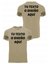 Camiseta personalizable Infantería estampación color