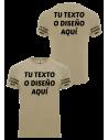 Camiseta personalizable Infantería estampación color