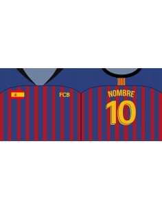 Taza Fútbol Club Barcelona personalizada