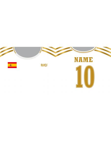 Taza Fútbol Real Madrid personalizada