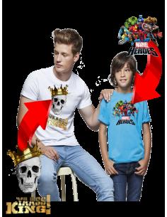 Camiseta unisex algodón personalizada
