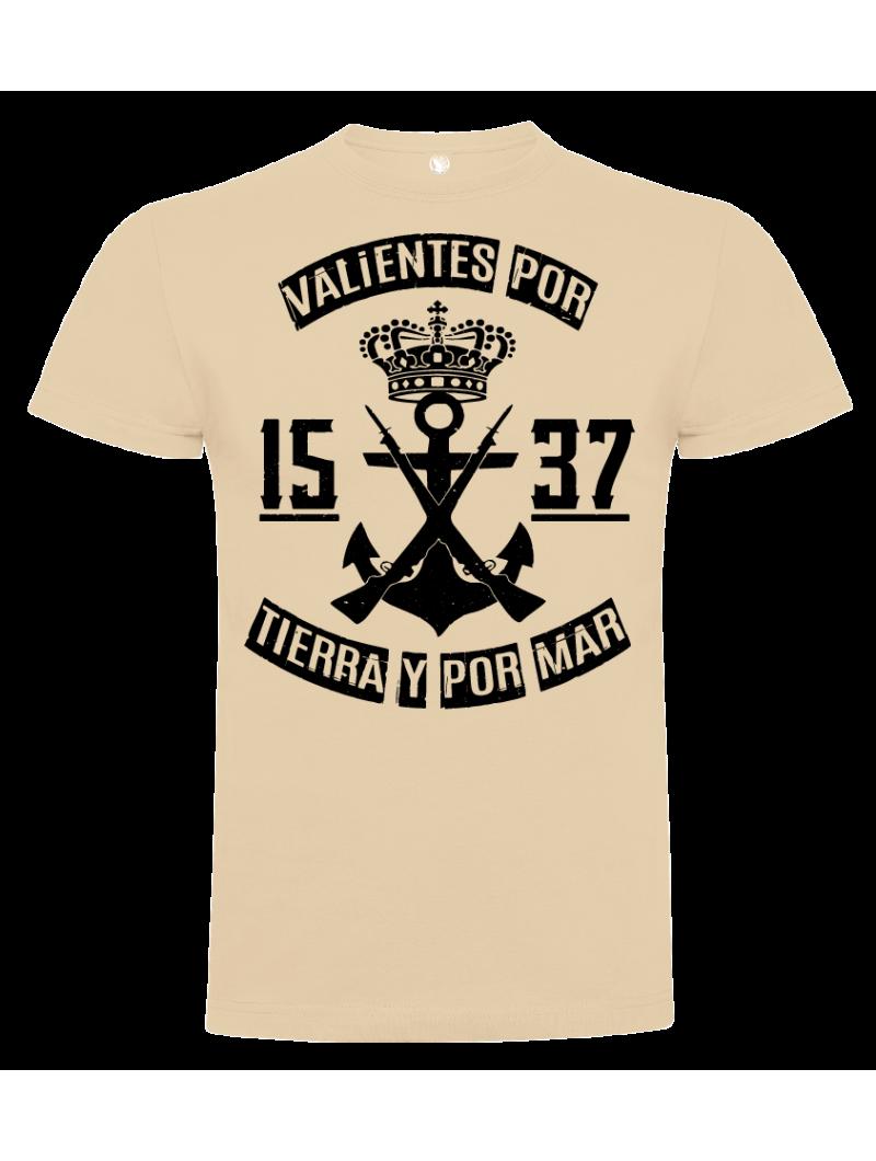 Camiseta Valientes por Tierra y por Mar