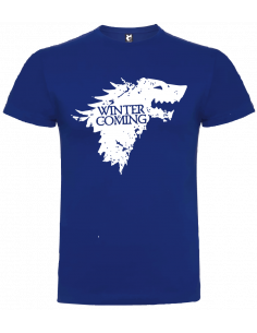 Camiseta winter is coming stark niño