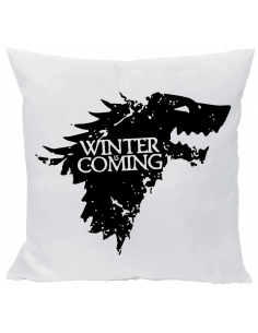 Cojín winter si coming stark