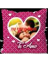 Cojín Amor 16 personalizado