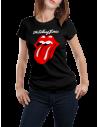 Camiseta rolling stones mujer