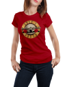 Camiseta Guns And Roses mujer