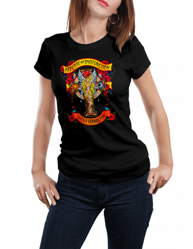 Camiseta Appetite for dysfunction mujer