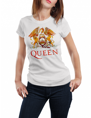 Camiseta Queen Freddie Mercury mujer