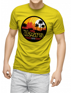 Camiseta the doors unisex