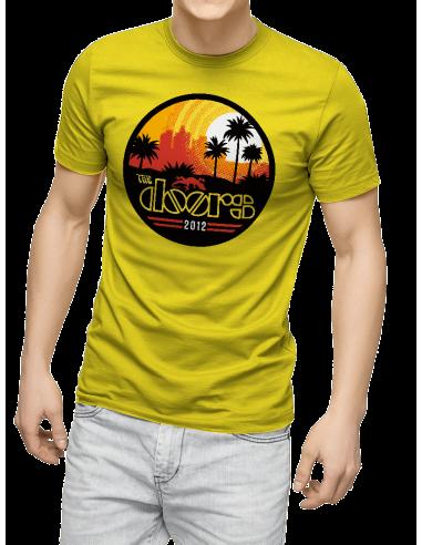 Camiseta the doors unisex