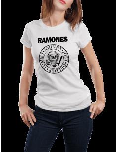 Camiseta Ramones mujer
