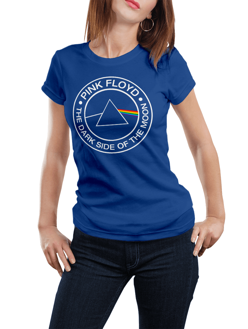 Camiseta Pink Floid mujer