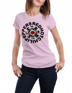 Camiseta Red Hot Chili Pappers 2 mujer