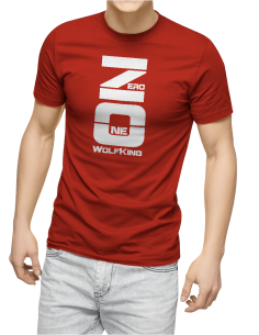 Camiseta Wolf King ZeroOne unisex