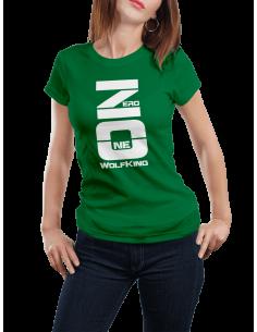 Camiseta Wolf King ZeroOne mujer