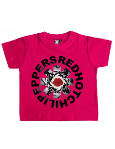 Camiseta red hot chili espinas bebé