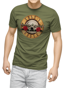 Camiseta Guns And Roses Revolvers unisex