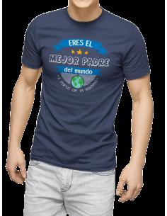 Camiseta eres el mejor padre del mundo