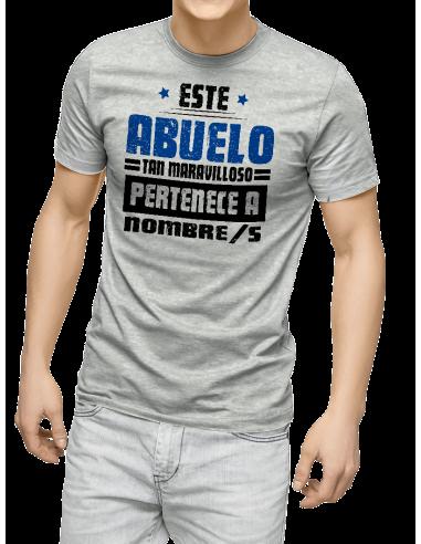 Camiseta este abuelo tan maravilloso pertenece a...