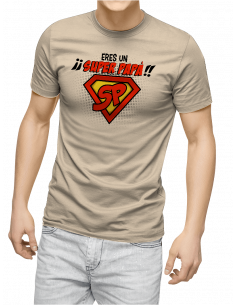 Camiseta Eres Un Super Papá