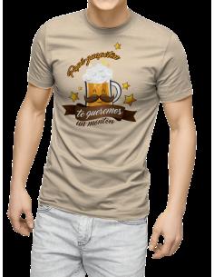Camiseta Papá Guapetón Te Queremos Un Montón