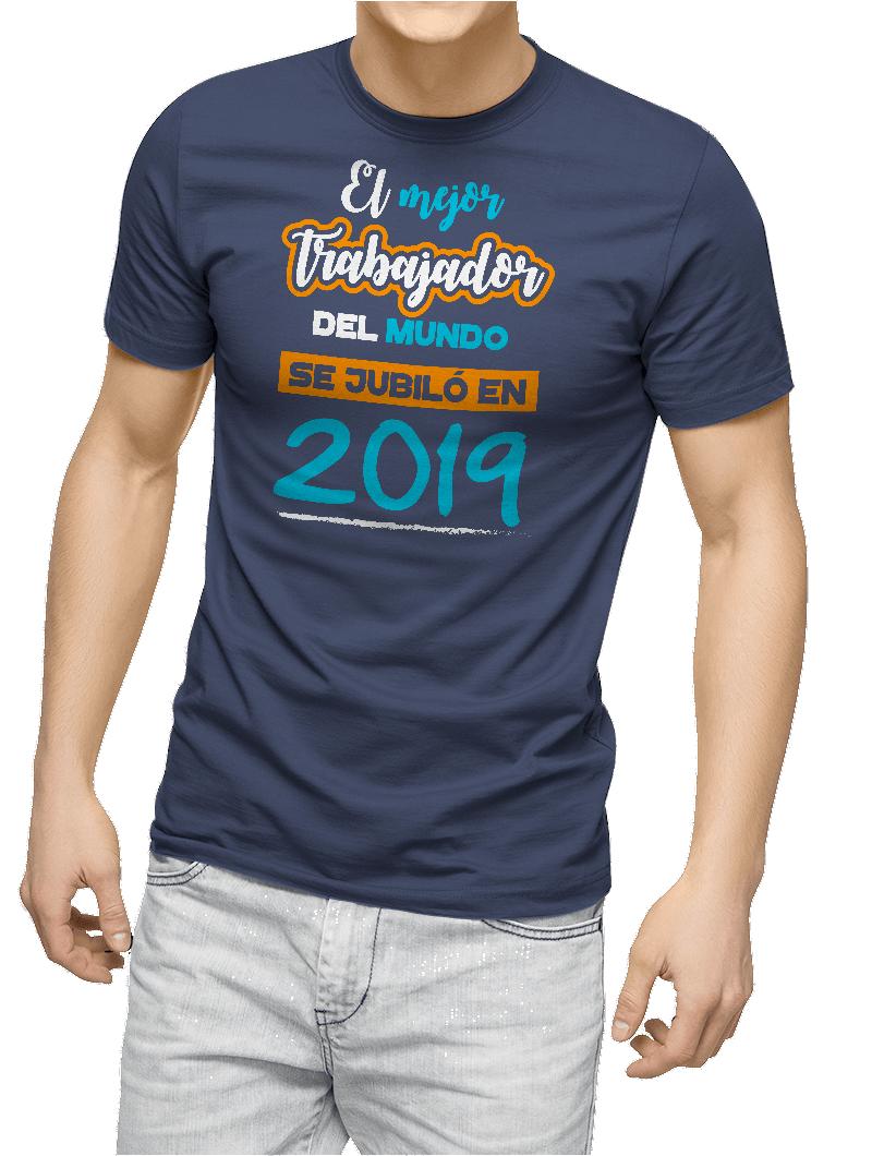 Camiseta El Mejor Trabajador del Mundo personalizado