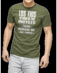 Camiseta los tíos no somos del todo inútiles