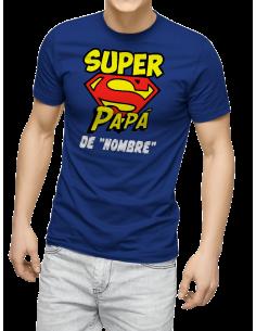 Camiseta Super Papá personalizada