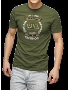 Camiseta Las leyendas nacieron en