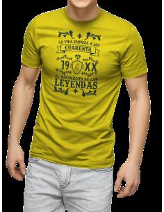 Camiseta La vida empieza a los ....