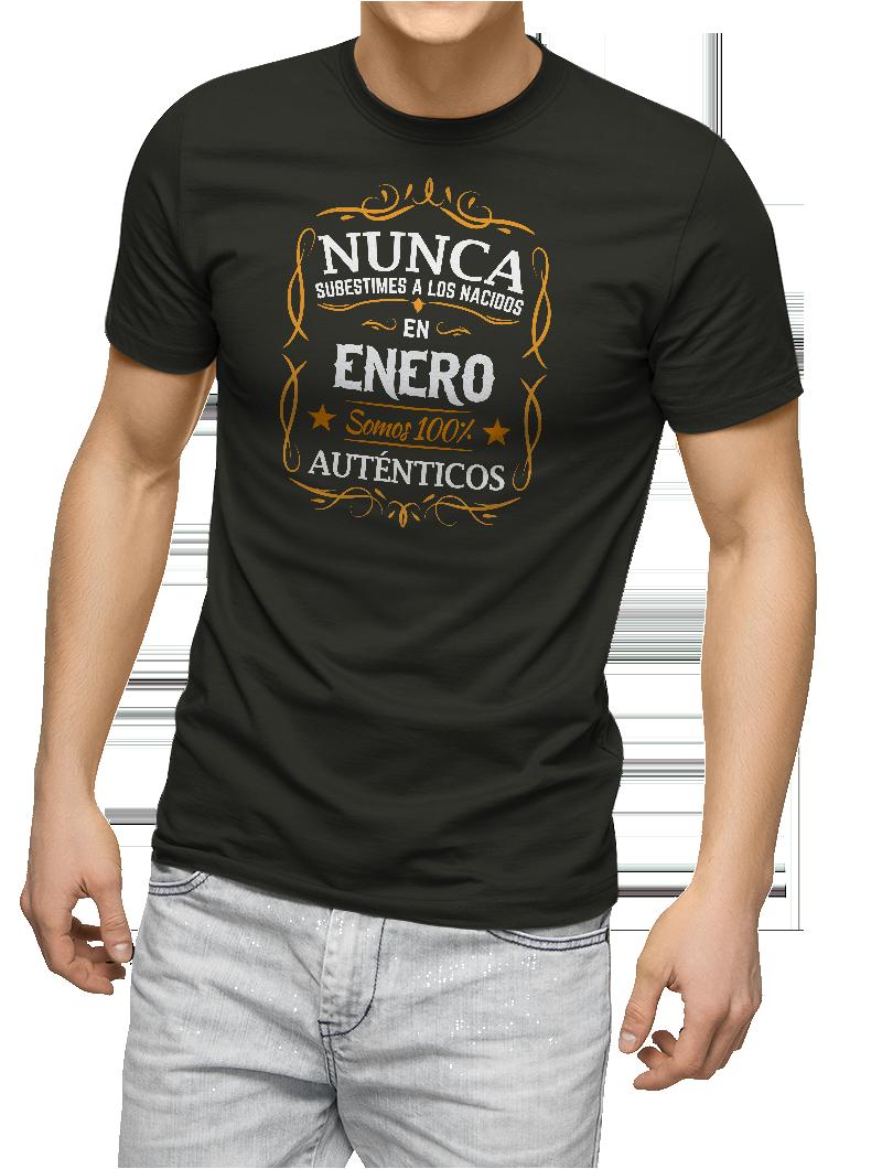 Camiseta Nunca subestimes a los nacidos en (mes)