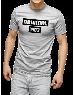 Camiseta Original Wolf King personalizada con año unisex