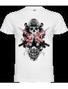 Camiseta calavera samurai niño