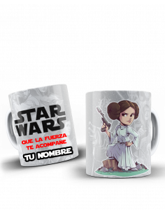 Taza STAR WARS - PRINCESA LEIA